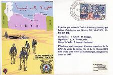 RAF ES23 Escape from Libya flown Escaper RAF cover