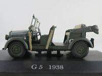 Altaya #42 Mercedes-Benz G 5 (1938) in mattolivgrün 1:43 NEU/PC-Vitrine