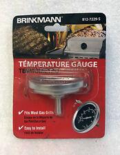 NEW GENUINE BRINKMANN 812-7229-S TEMPERATURE GUAGE UNIVERSAL BBQ GRILL SMOKER