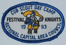 National Capital Area Cncl (MD) 1993 Cub Scout Day Camp Pocket Patch  BSA