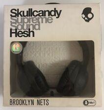 Skullcandy Hesh Supreme Sound Over-Ear Headphones Brooklyn Nets - Rare!