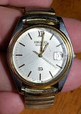 Seiko SQ 5Y22-6009 Vintage Men's Watch - New Battery