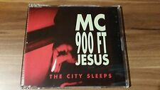 MC 900 Ft Jesus - The city sleeps (1991) (MCD) (NET 037 CD)