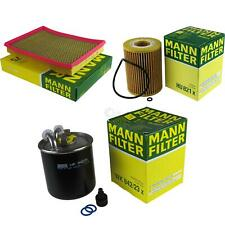 MANN-FILTER Set Jeep Grand Cherokee III WH 3.0 CRD Commander Xk