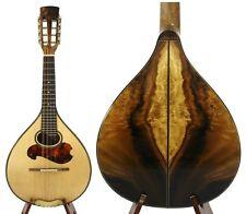 Small Arch Back Mandolin Solid Spruce-Acacia Koa Free Hard Case NAMI106@!
