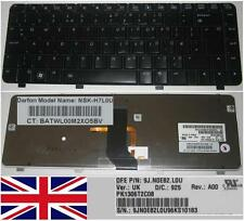 Qwerty Keyboard UK HP DV3-2000 DV3 Series NSK-H7L0U 9JN0E82.L0U Brill Backlit