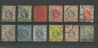 Hong Kong Stamps Old Edward VII Classic Rare Used Ex-Old Time Collection