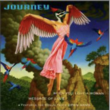 Audio CD - JOURNEY - When You Love a Woman Open Arms SINGLE  USED Very Good (VG)