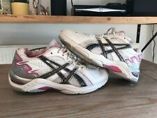 ASICS GEL Netburner 11 Duo Max with AHAR+ Womens UK Size 6.5 / White Silver Pink