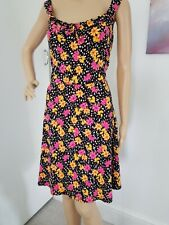 DOROTHY PERKINS BNWOT GORGEOUS FIT&FLARE SUMMER DRESS GENEROUS SIZE 18