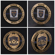 Michigan Police Chief Sergeant Commemorative Coin Collection Arts Gifts Souvenir
