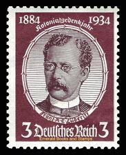 EBS Germany 1934 Colonial Explorers - Franz A. E. Lüderitz - Michel 540 MNG