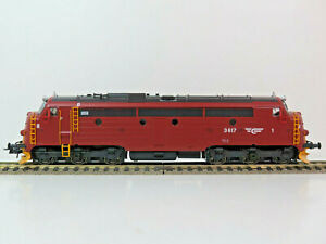 Reihe Di3 617 der NSB, modernized, Norwegen, NOHAB,NMJ Topline, 90019,H0,OVP,NEU