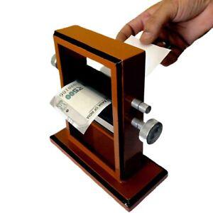 MONEY PRINTER  Stage Print Bills from Blank Paper Apparatus Change Money Illusio