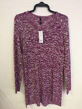 Evans Plus Size Purple Jumper Cardigan Size 22/24