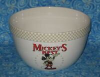 Mickey's Best Disney Shopping Huge Ceramic Mixing Serving Bowl Mickey Mouse