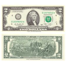 United States USA 2 Dollars 2009 Series D (Cleveland) P-530A Banknotes UNC