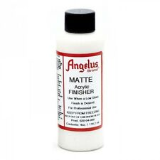 Angelus Brand Acrylic Leather Paint Finisher - Matte - 4oz