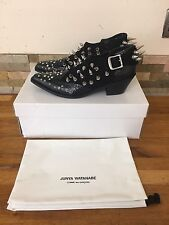 Junya Watanabe for Comme des Garcons Kiro Leather Cuban Boots Small/UK 3-4 £1200
