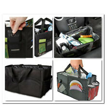 Multipurpose Car Console Center Organizer Trunk Tidy Storage Folding Bag Auto !