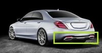 NEW GENUINE MB S W222 AMG LINE REAR BUMPER DIFFUSER A2228855201