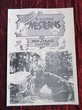 WESTERNS  - FILM FANZINE  - NOSTALGIA - NEW ZEALAND ISSUE   #41