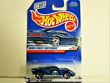 HOT WHEELS 1999 FORD GT40 RACE CAR FIRST EDITION NEW IN PACKAGE SUPER NICE