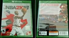 Xbox One NBA 2K18 Early Tip Off Edition (Comes w/BONUS Content) BRAND NEW SEALED