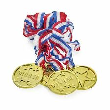 48 Winners Medals - sports day olympic theme kids parties -awards
