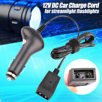 12V DC Adapter Power Charger Cord for Streamlight 22051 Stinger LED Polystinger