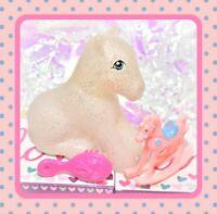 ❤️My Little Pony MLP G1 Style HQG1C Sitting Earth Pony Sparkle Glitter Blank❤️