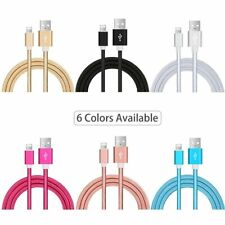 3 10Ft For iPhone X iPhone 8 Plus 7 6 USB SYNC Charger Cable Charging Data Cord