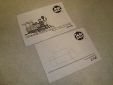 LGB 29400 CHRISTMAS SET BLACK & WHITE INSTRUCTION MANUAL SET OF 2 PIECES NEW!
