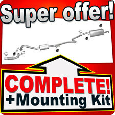 Ford Fusion 1.6 TDCi 09.2004-11.2005 +Pipe Silencer Exhaust System L14
