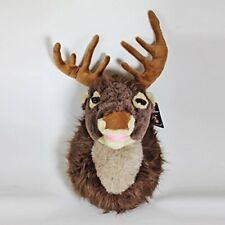 Christmas 40cm Singing Reindeer Head with Moving Mouth