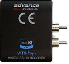 Advance Acoustic WTX 500 Magic Bluetooth Empfänger schwarz DER GENIALE Neu !