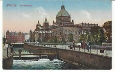1915 - Leipzig, Reichsgericht, Feldpost, gelaufen nach Altmittweida