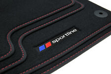 Sportline Fußmatten für BMW 3er E46 Bj. 1998-2006