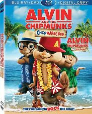 Alvin and the Chipmunks 3: Chipwrecked [Blu-ray Movie, Region A, Simon] NEW