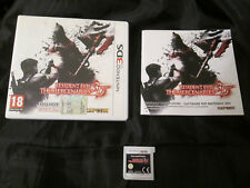 3DS : RESIDENT EVIL : THE MERCENARIES 3D - Completo, ITA ! Comp. 2DS, New 3DS XL
