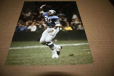 Detroit Lions Lem Barney Unsigned 8X10 Photo Pose 4
