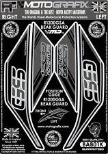BMW R1200GS Adventure GSA Motorcycle Beak Guard Kit Motografix 3D Gel Protector