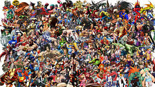 Street Fighter Characters - Complete - Wall Poster  - 22 in x 34 in - HUGE