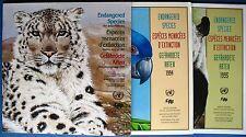 UNO Wien/Genf/NY Gefährdete Arten 1993-1995 in Sammelmappe postfrisch wie NEU