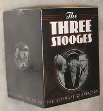 The Three Stooges: Ultimate Collection (Volumes 1,2,3,4,5,6,7,8) DVD Box Set