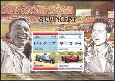 ST. Vincent 1985 MOTOR RACING/Auto/Phil Hill/GP/F1/Grand Prix HUNGARIAN M/S (s6061)