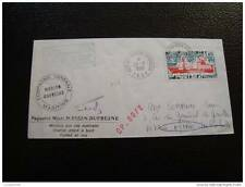 TAAF lettre 20/3/80 - timbre stamp - yvert et tellier n°67 (cy7)