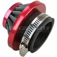 44mm Air Filter Cleaner for GY6 150cc ATV Go Kart Quad 4 Wheeler Buggy Red