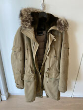 Yves Salomon Raccoon/Rabbit Fur Coat/Parka Army - 48/M