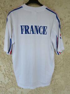 Maillot équipe de FRANCE Jeux Olympiques Athlétisme blanc shirt trikot 4 L